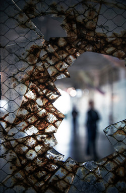 Through Broken Glass - Alcatraz Island 2