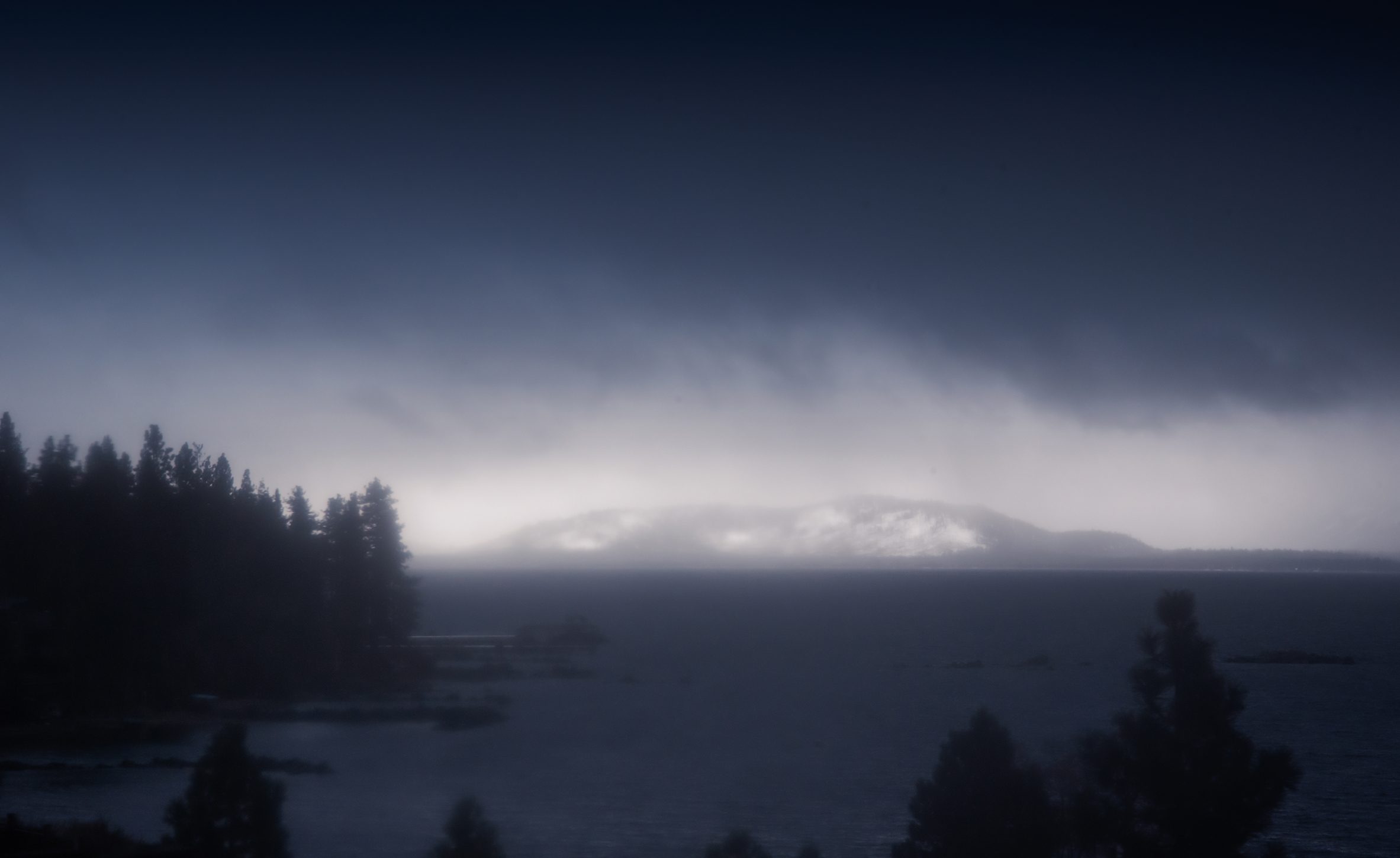 Ghostly Tahoe Panorama