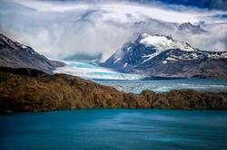 Glaciar Upsala y el Lago Guillermo-El Ca