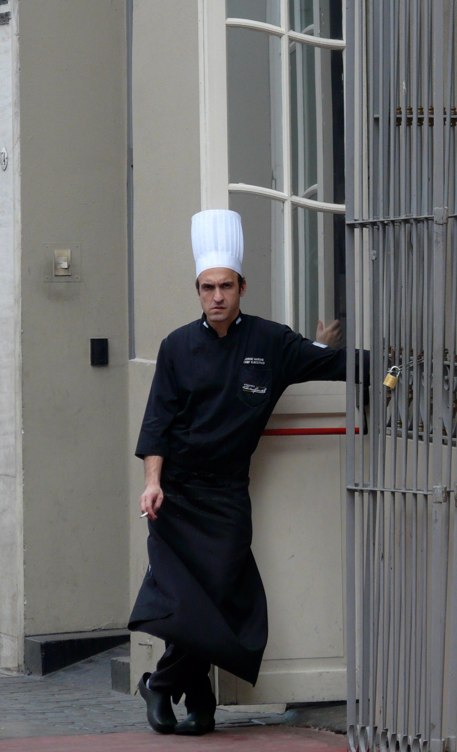 Disgruntled Chef-Buenos Aires Argentina.