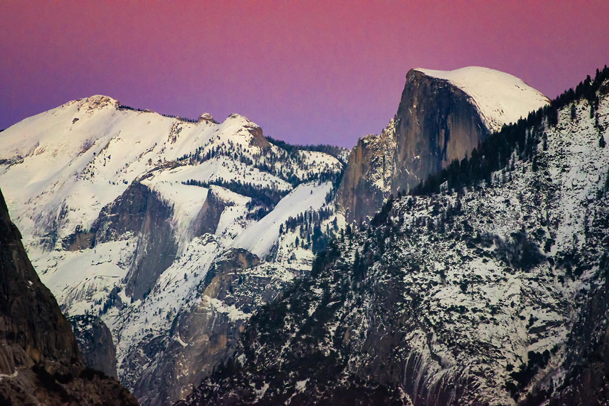 Sunset in Yosemite II