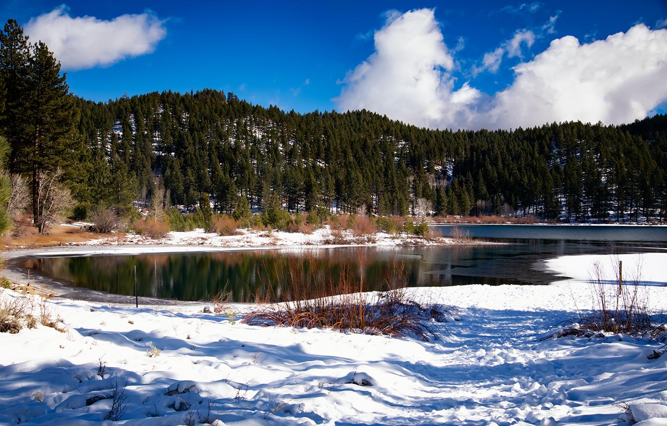 Winter at Spooner Lake