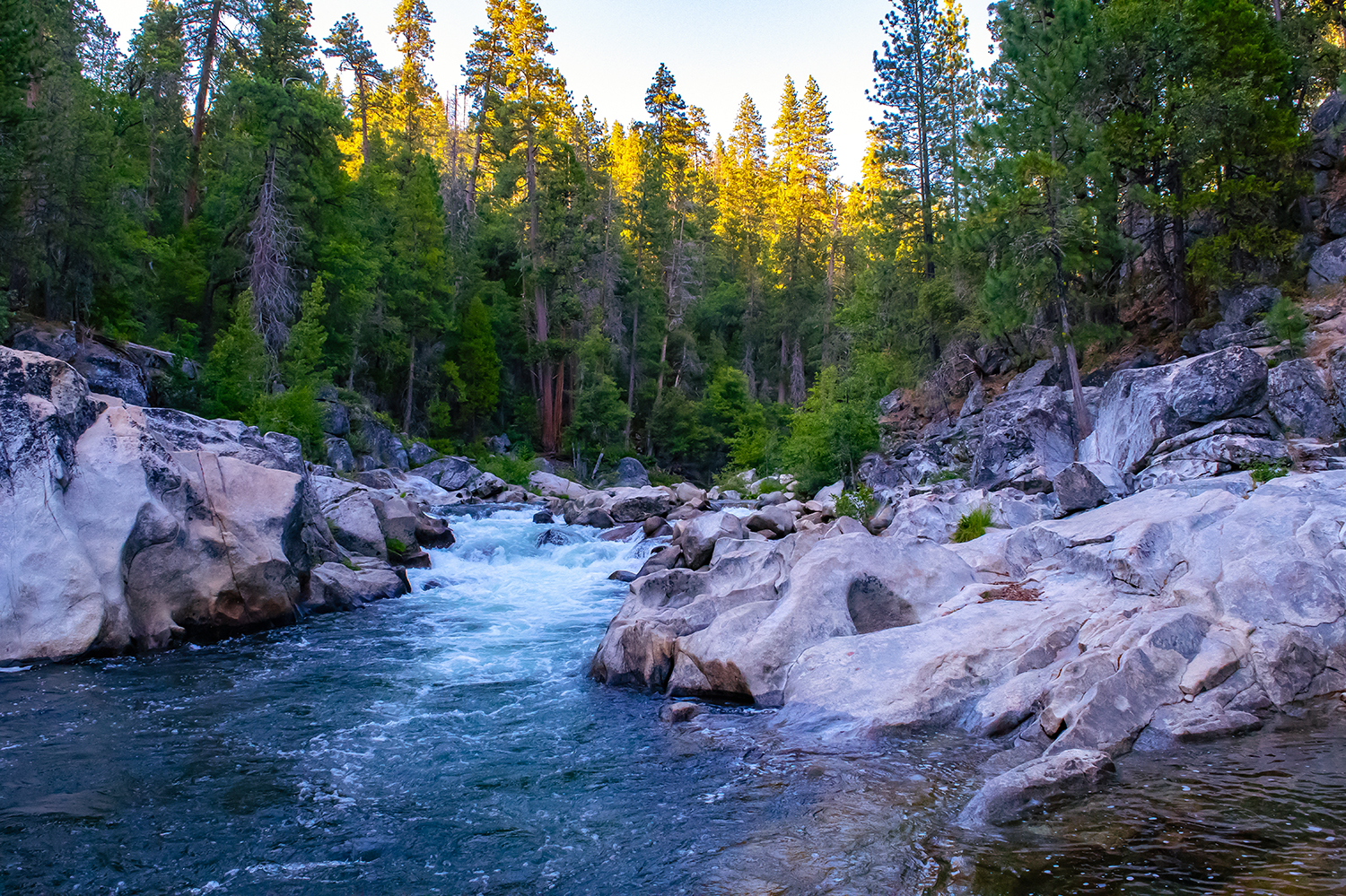 North Fork of Stanislaus River