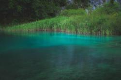 One of Plitvice's beautiful lagoons