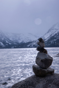 Moment of Zen at Fallen Leaf Lake