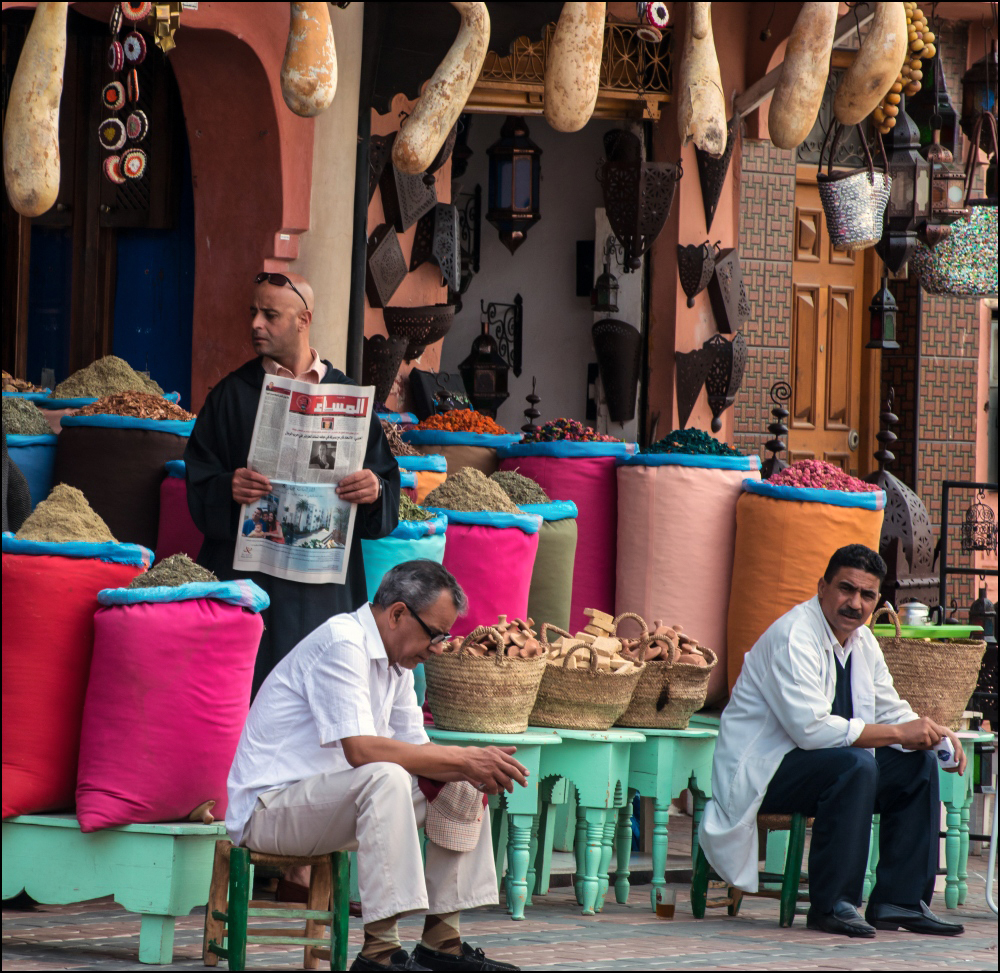 Day at the Market Marrakesh