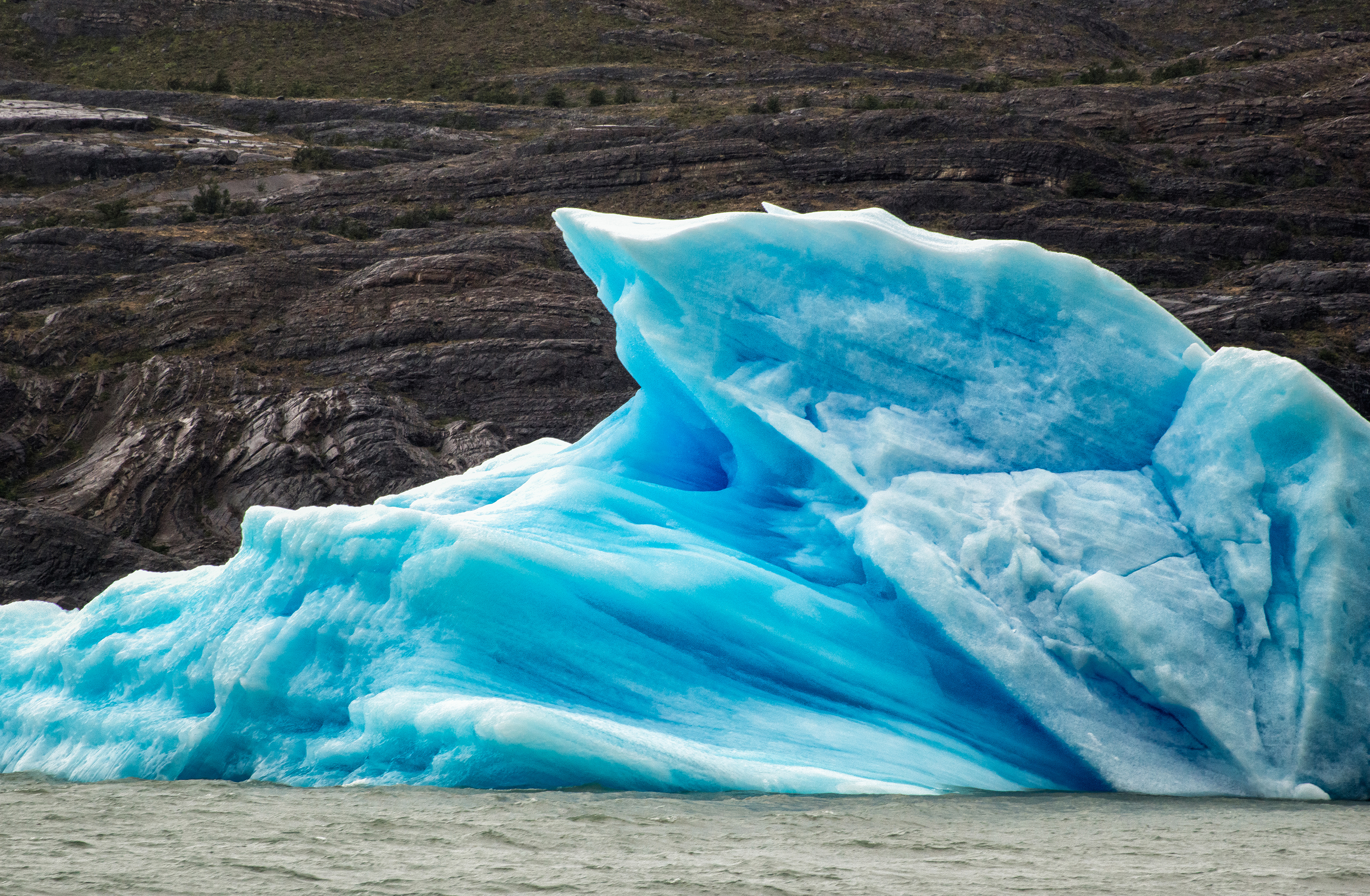 Textures of Ice-El Calafate