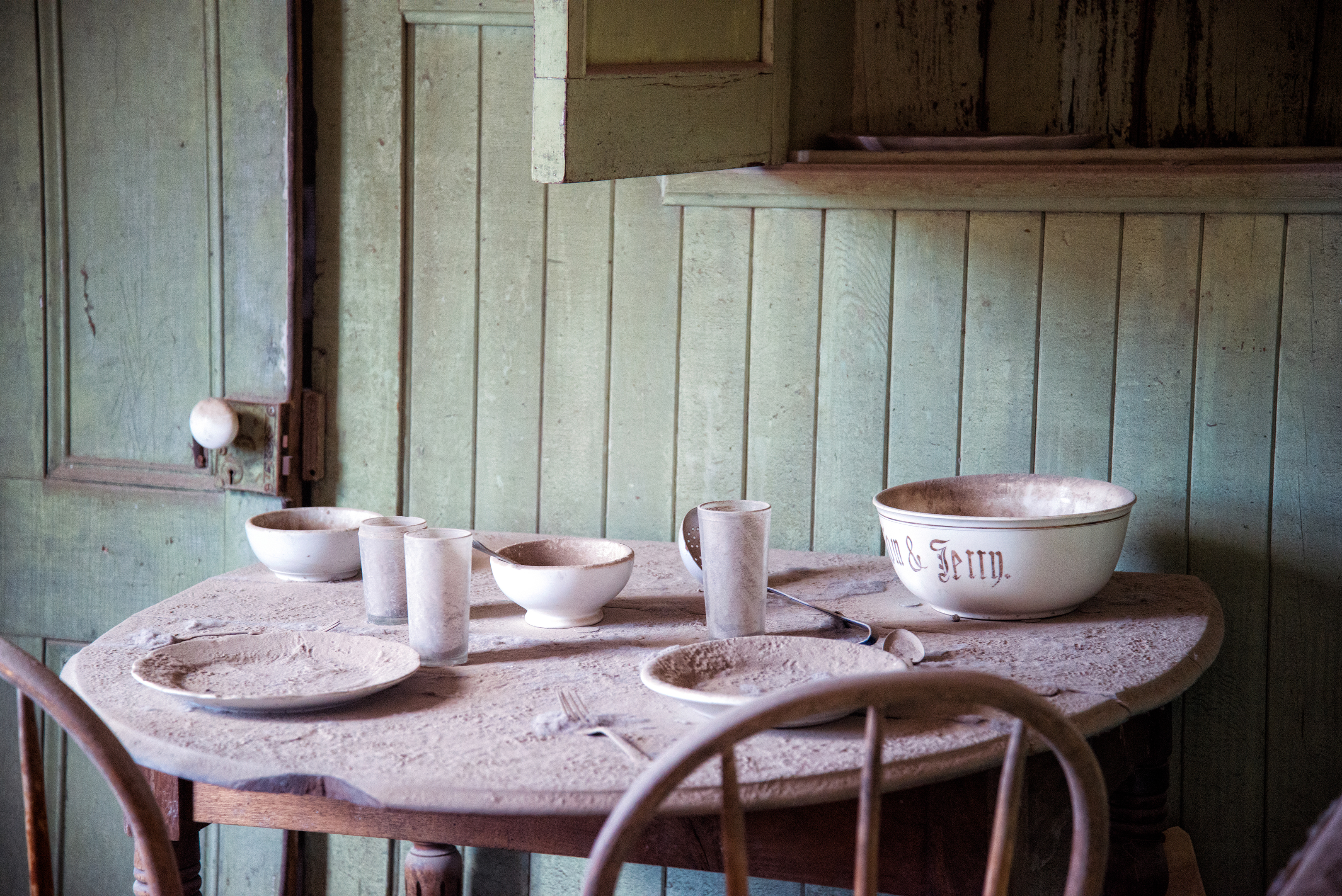 Abandoned Table-Bodie a ghost town