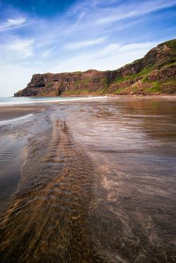 Low tide at Talisker Beach, Skye