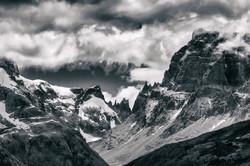 Los Glaciares National Park B&W