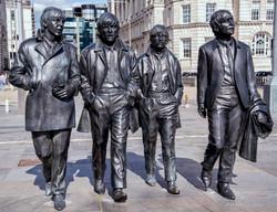 Beatles Statue Pier Head
