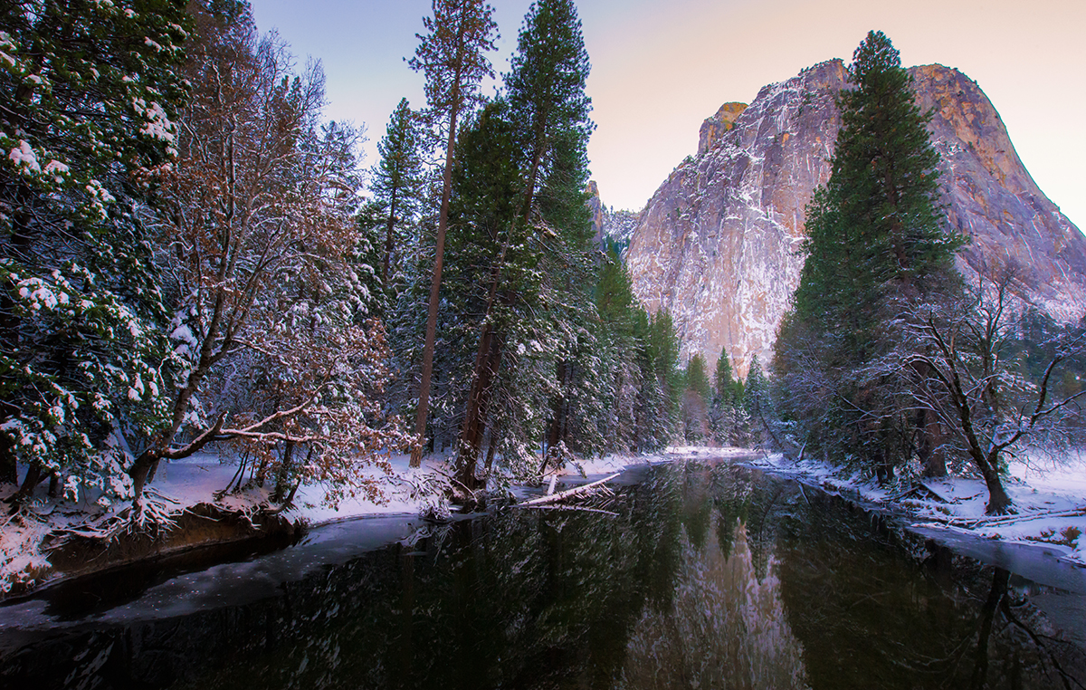 Reflected in the Merced River