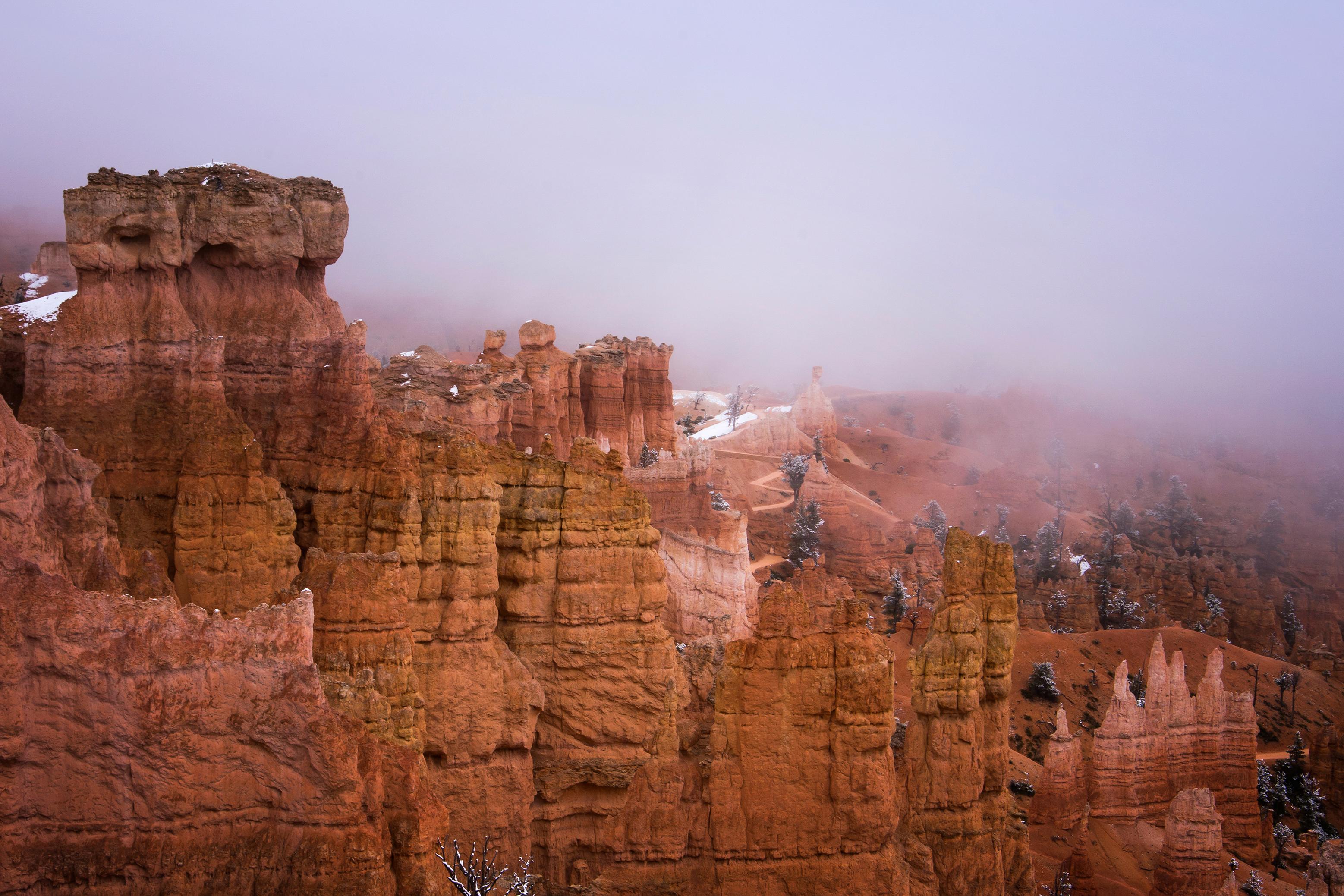Bryce Canyon's Dreamy Landscape