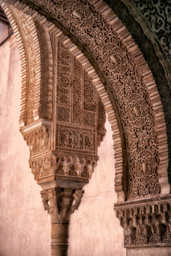 Arches of Alhambra