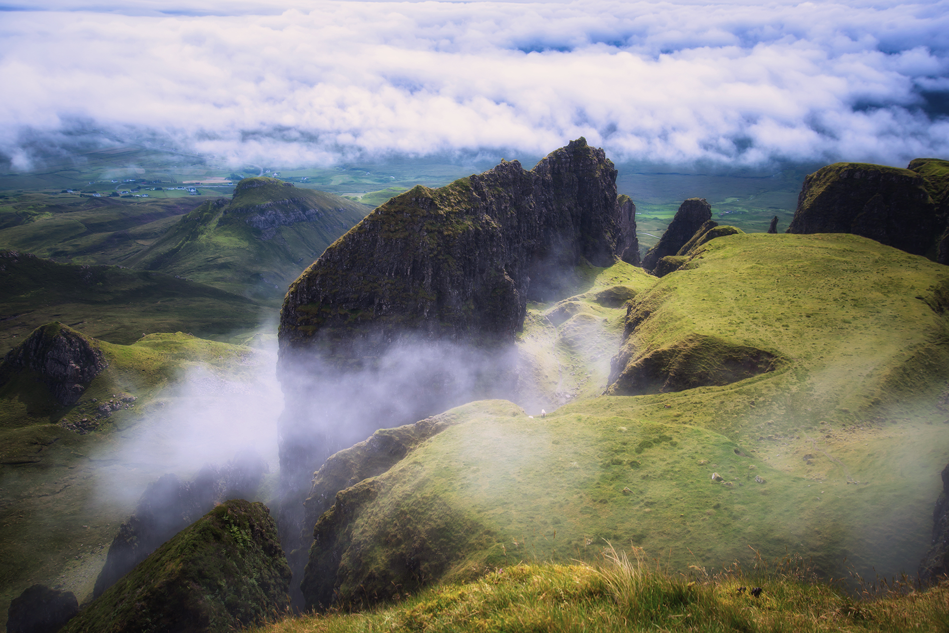 Mists on the Table of Quiraing