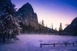 Winter's Light, Cathedral Rock