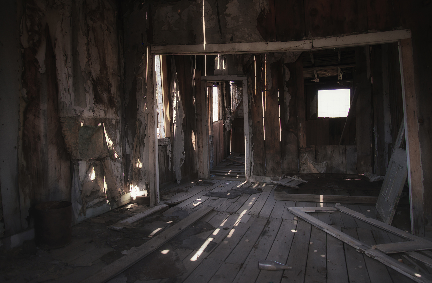 An eerie light--Bodie Ghost Town