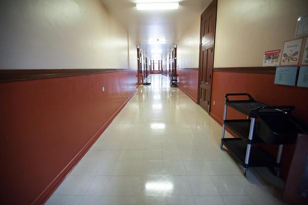 Couloir haut