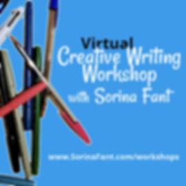 Virtual Creative Writing Workshop blue 4