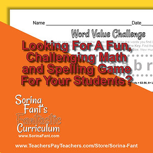 z Word Value Challenge - Packet #2 Promo