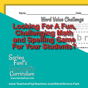 z Word Value Challenge - Packet #1 Promo