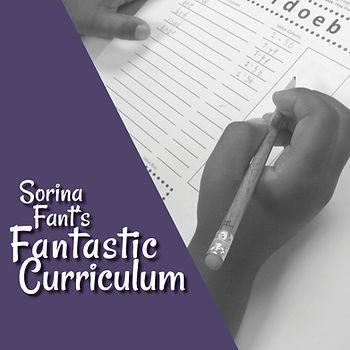 Sorina Fant's Fantastic Curriculum
