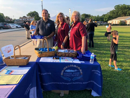 National Night Out with Nassau County Police