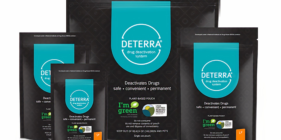 Free Deterra Kit Giveaway with Assemblyman Mike Lipetri
