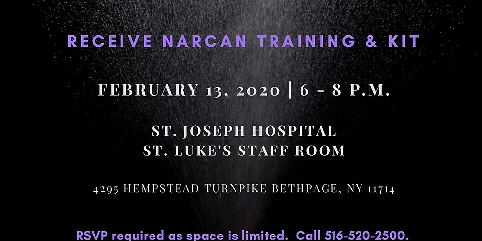 Overdose Prevention - Narcan Training