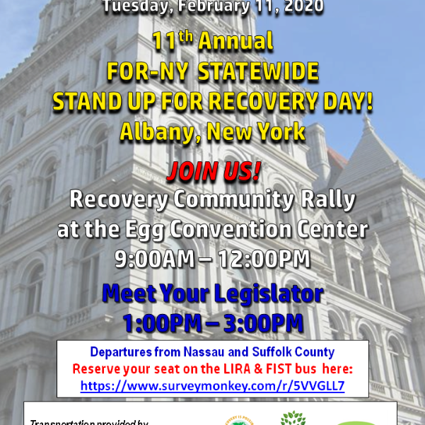11th Annual Stand Up For Recovery Day!