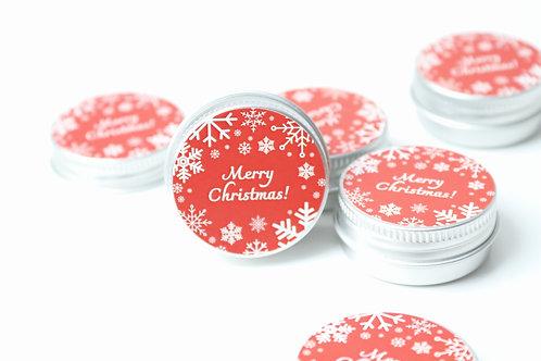 Christmas favour tin