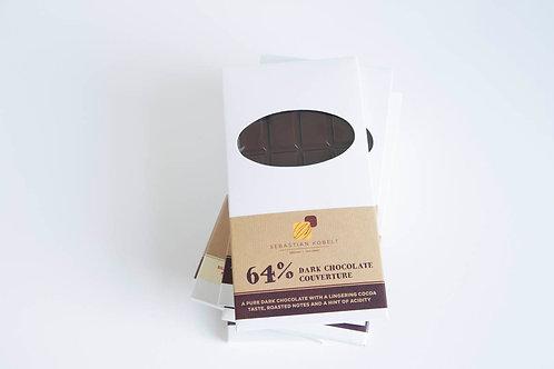 dark chocolate bar, 64%