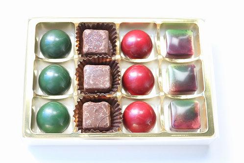 12 piece festive selection