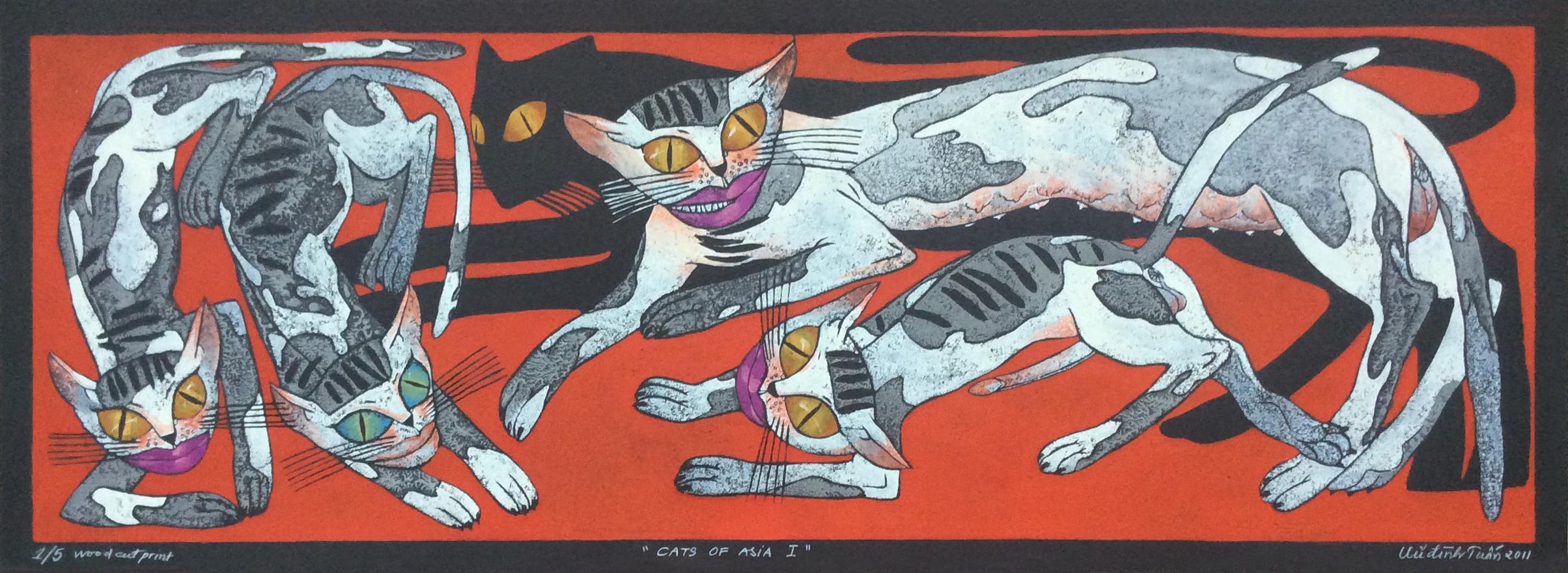 Cats of Asia No. 1 | Mèo Châu Á 01