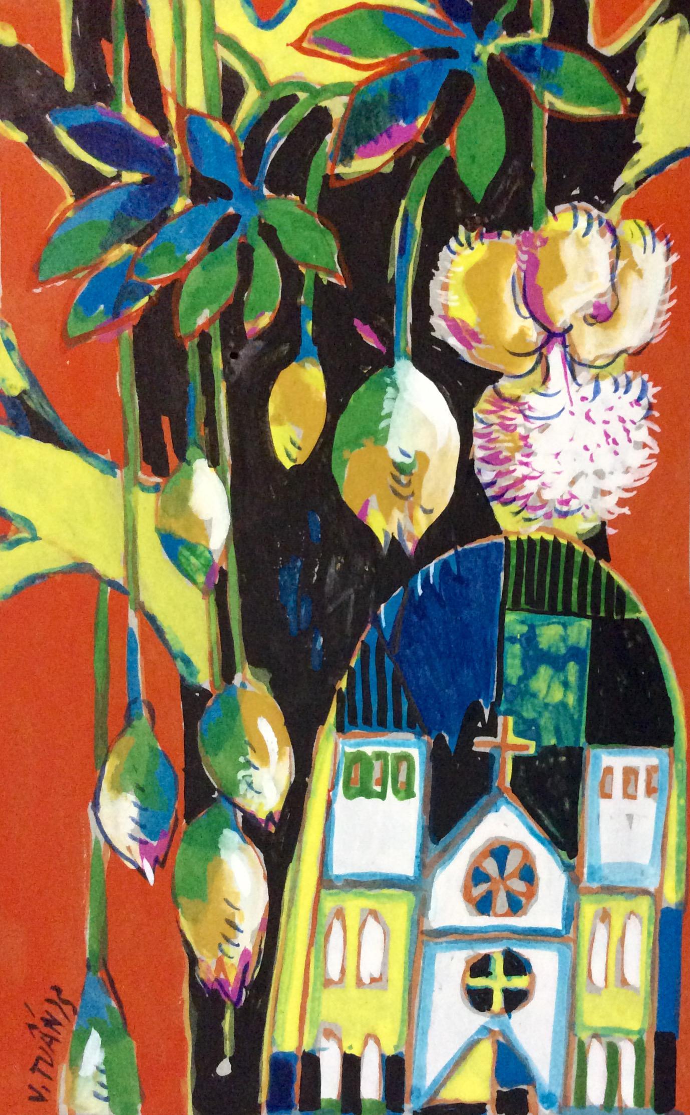 Hoa bao báp | Baobab Blooming