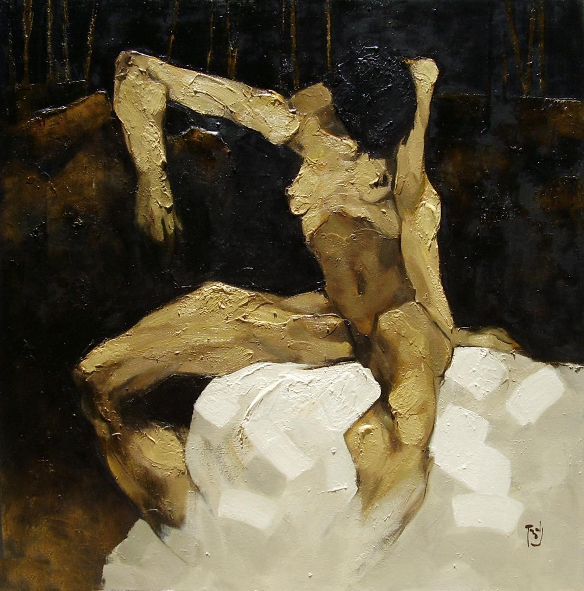Sitting Nude No. 2 | Ngồi Khỏa Thân 02
