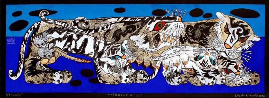 Tiger Family No. 1 | Gia Đình Hổ 01