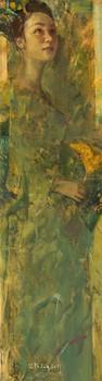 Lady in Green No. 2   Thiếu Nữ Trong Sắc Lục 02