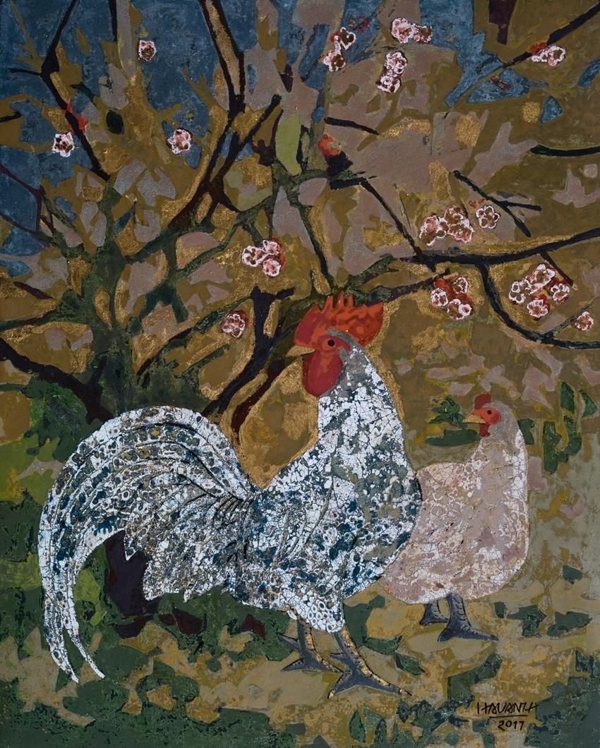 Chicken In The Garden No. 2   Gà Trong Vườn No. 2