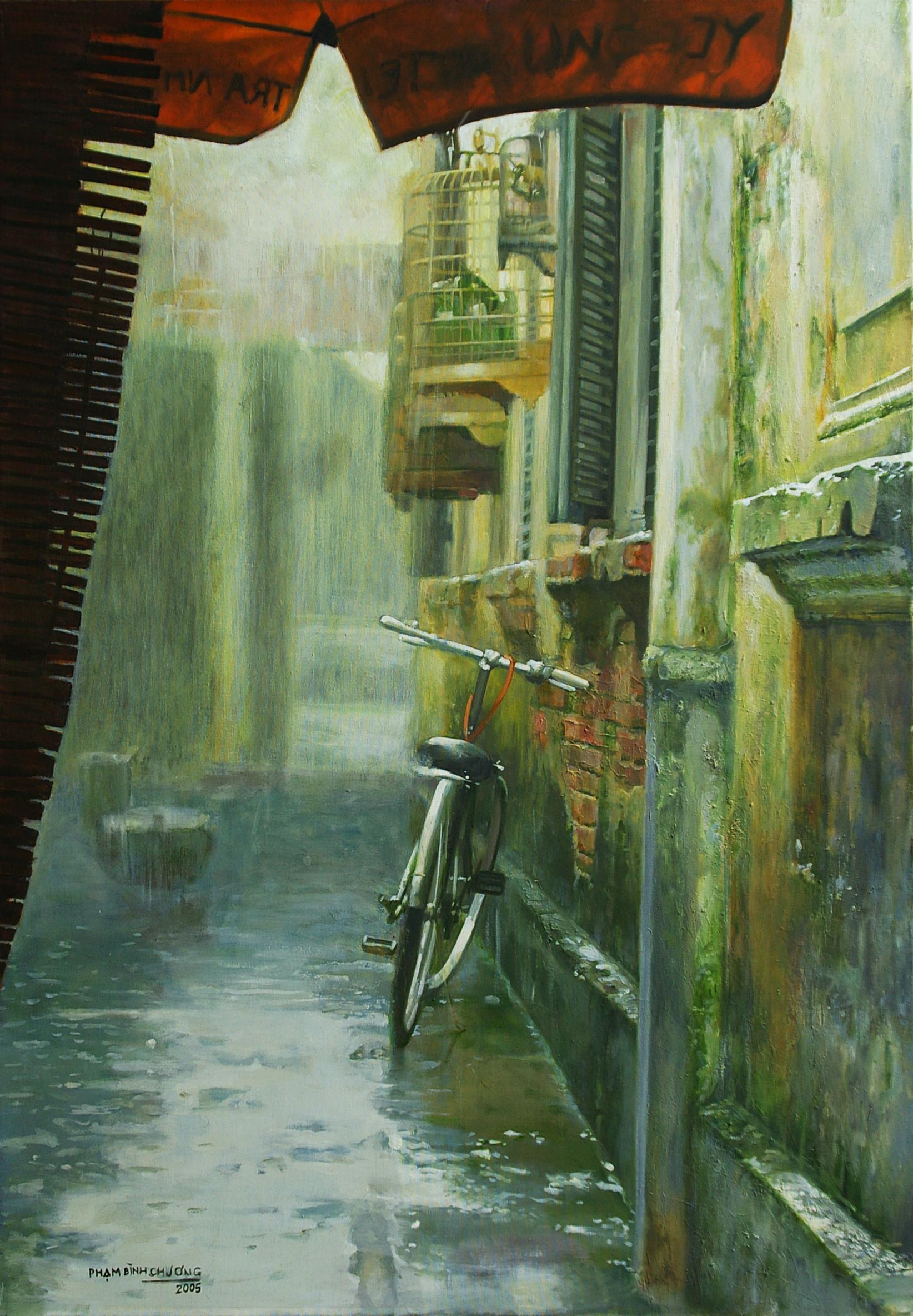 Raining Lane | Ngõ Mưa