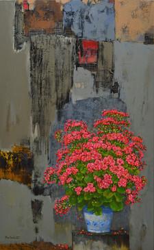 Flowers and the Old Wall | Hoa và Tường cũ