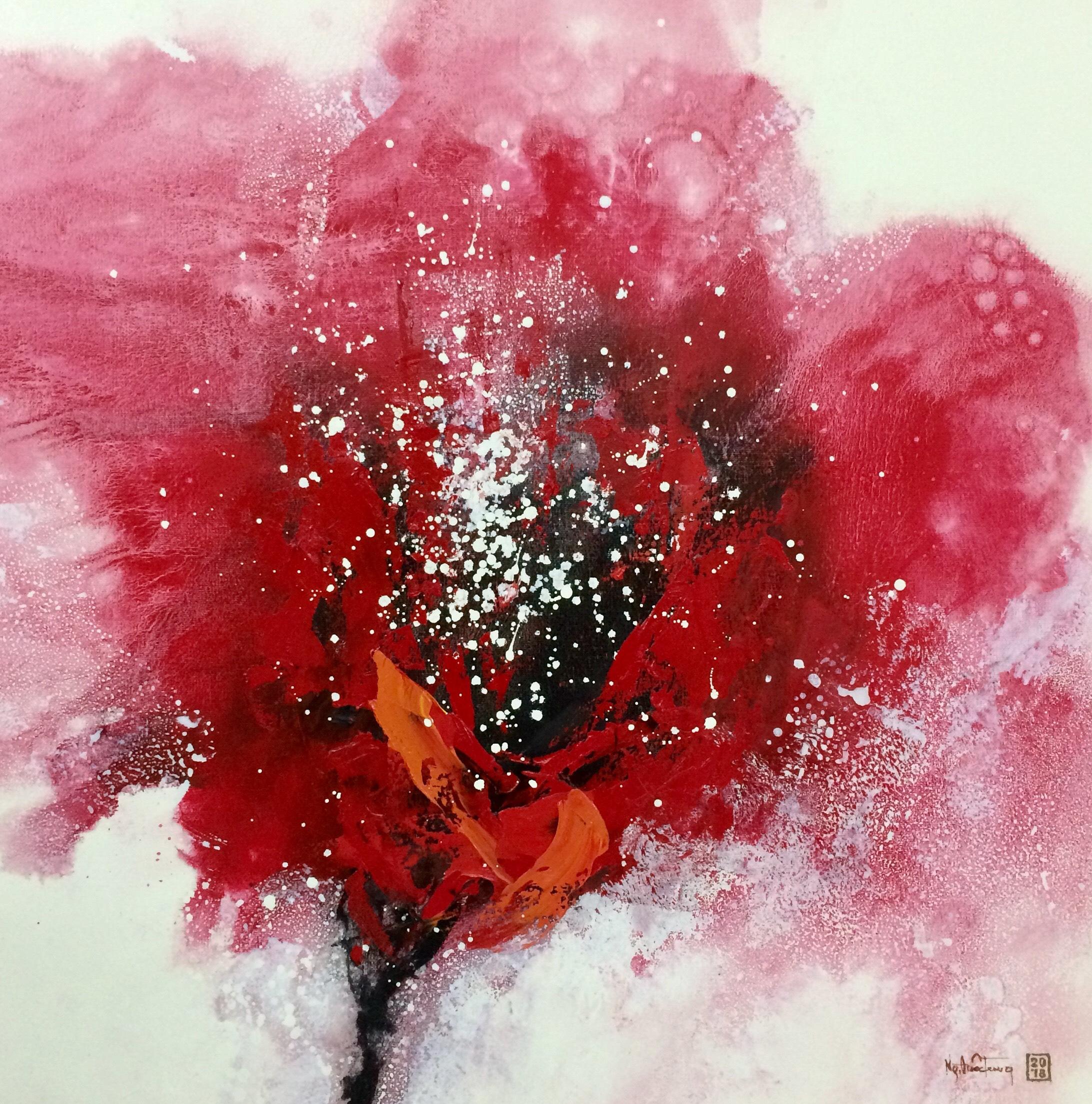 Spring Blossom Red