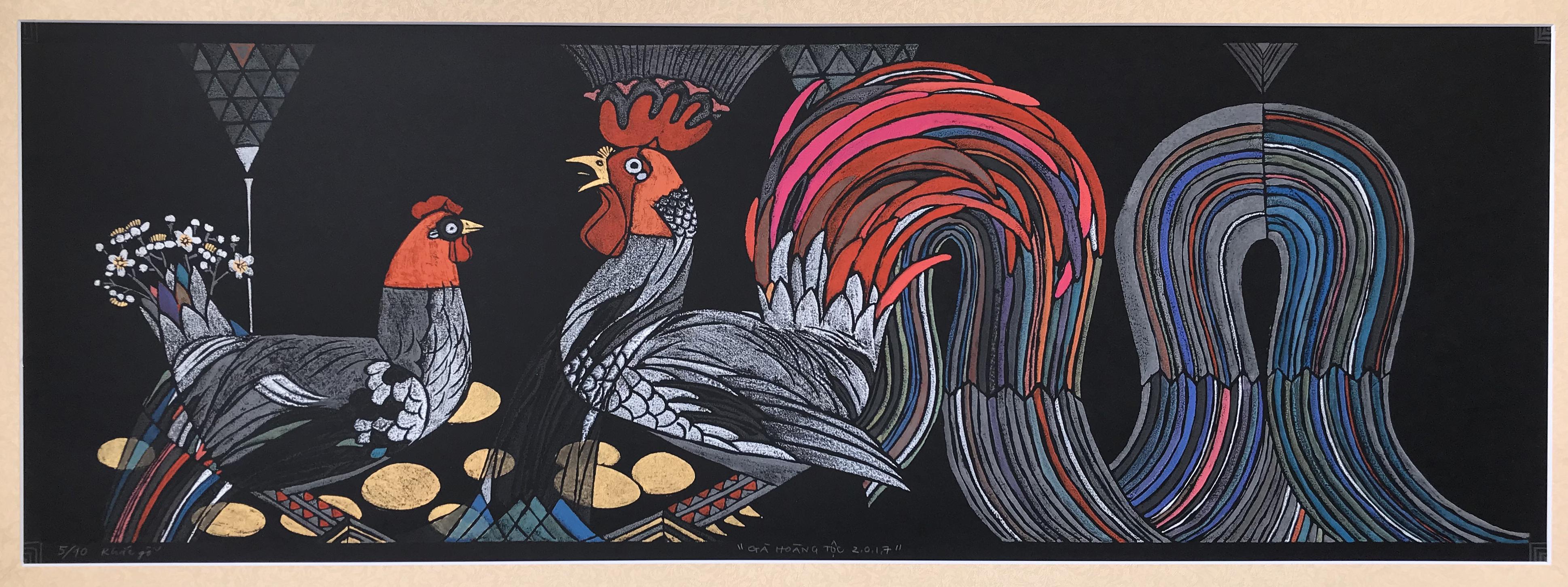 Royal Rooster | Gà Hoàng Tộc