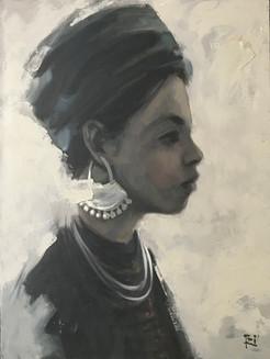 Portrait of a Minority No. 1 | Chân dung Người đàn bà Dân tộc Thiểu số 01