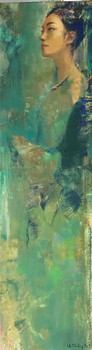 Lady in Green No. 1   Thiếu Nữ Trong Sắc Lục 01