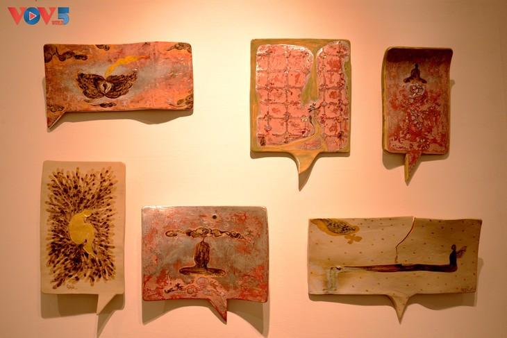 """Bộ sưu tập mang tựa đề """"Thì Thầm"""" của nghệ sĩ Đỗ Hiệp."""
