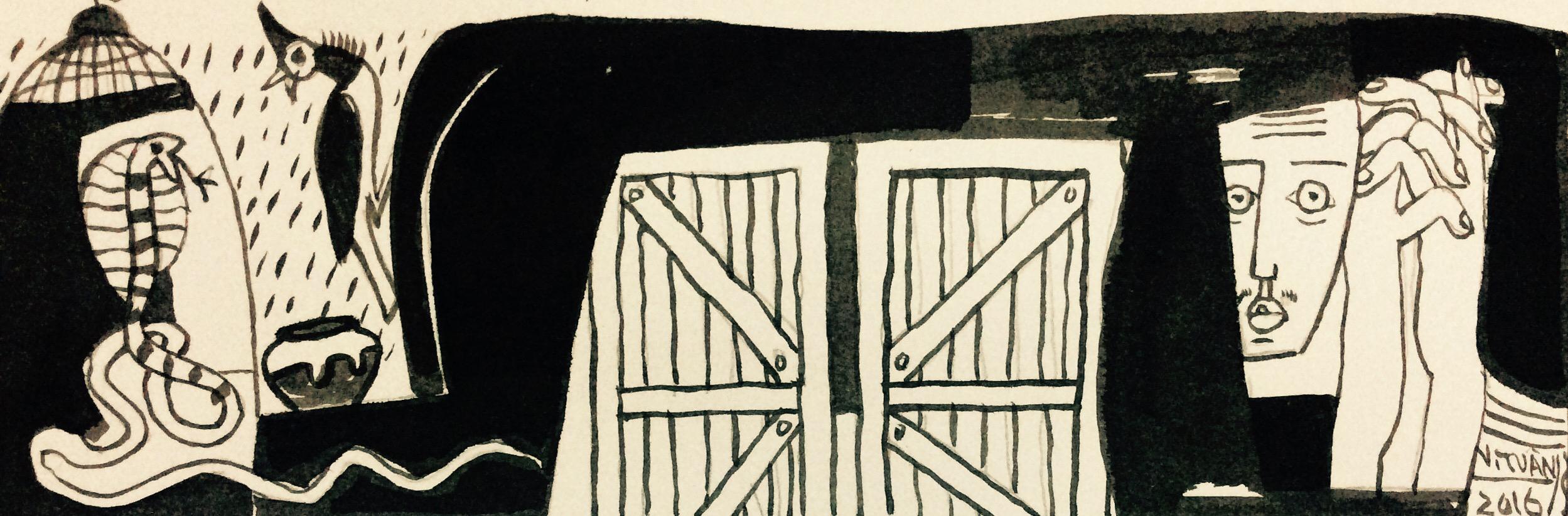 Phía sau cánh cửa | Behind the Doors