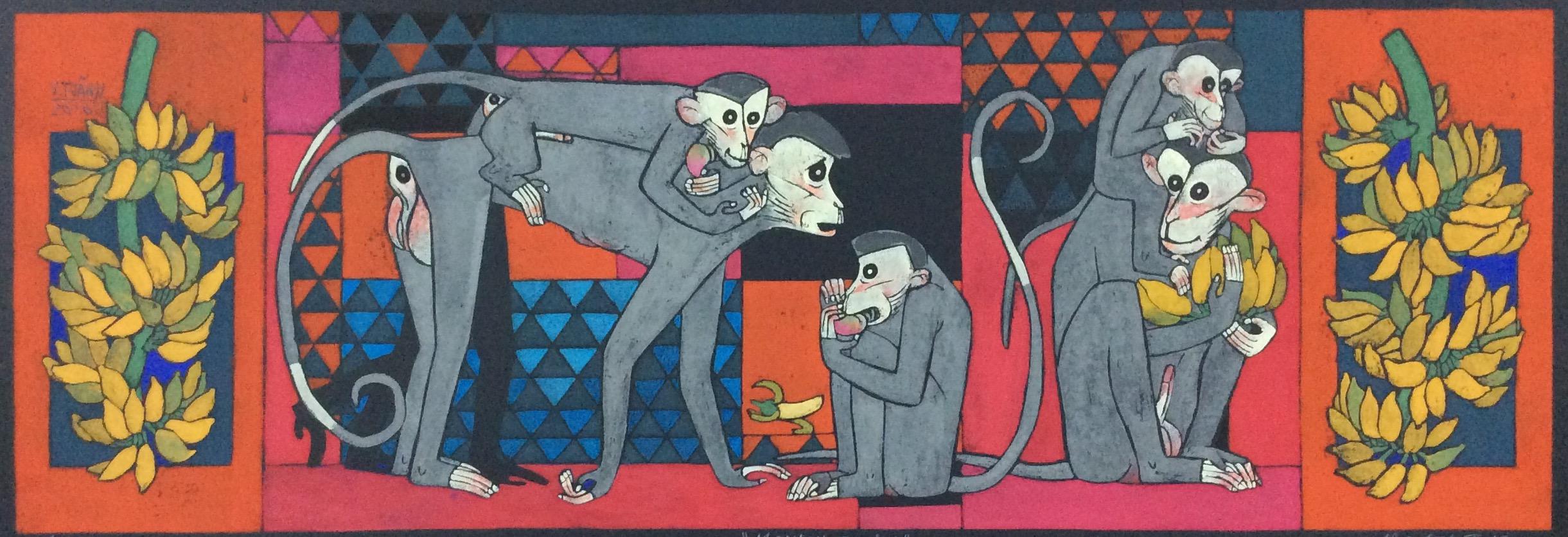 Monkey Family No. 1 | Gia Đình Khỉ 01