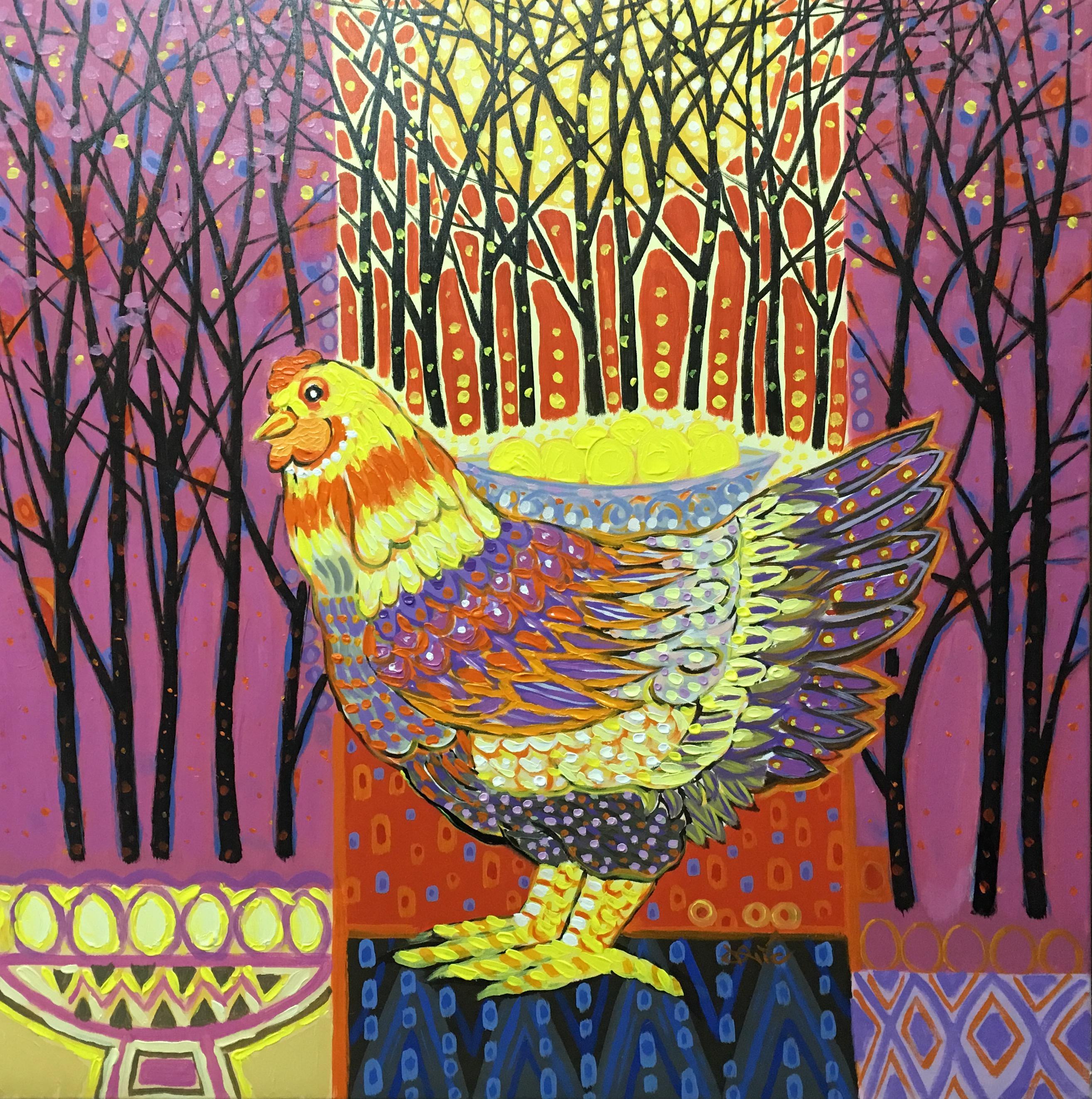 The Chicken That Laid The Golden Eggs   Con Gà Đẻ Trứng Vàng