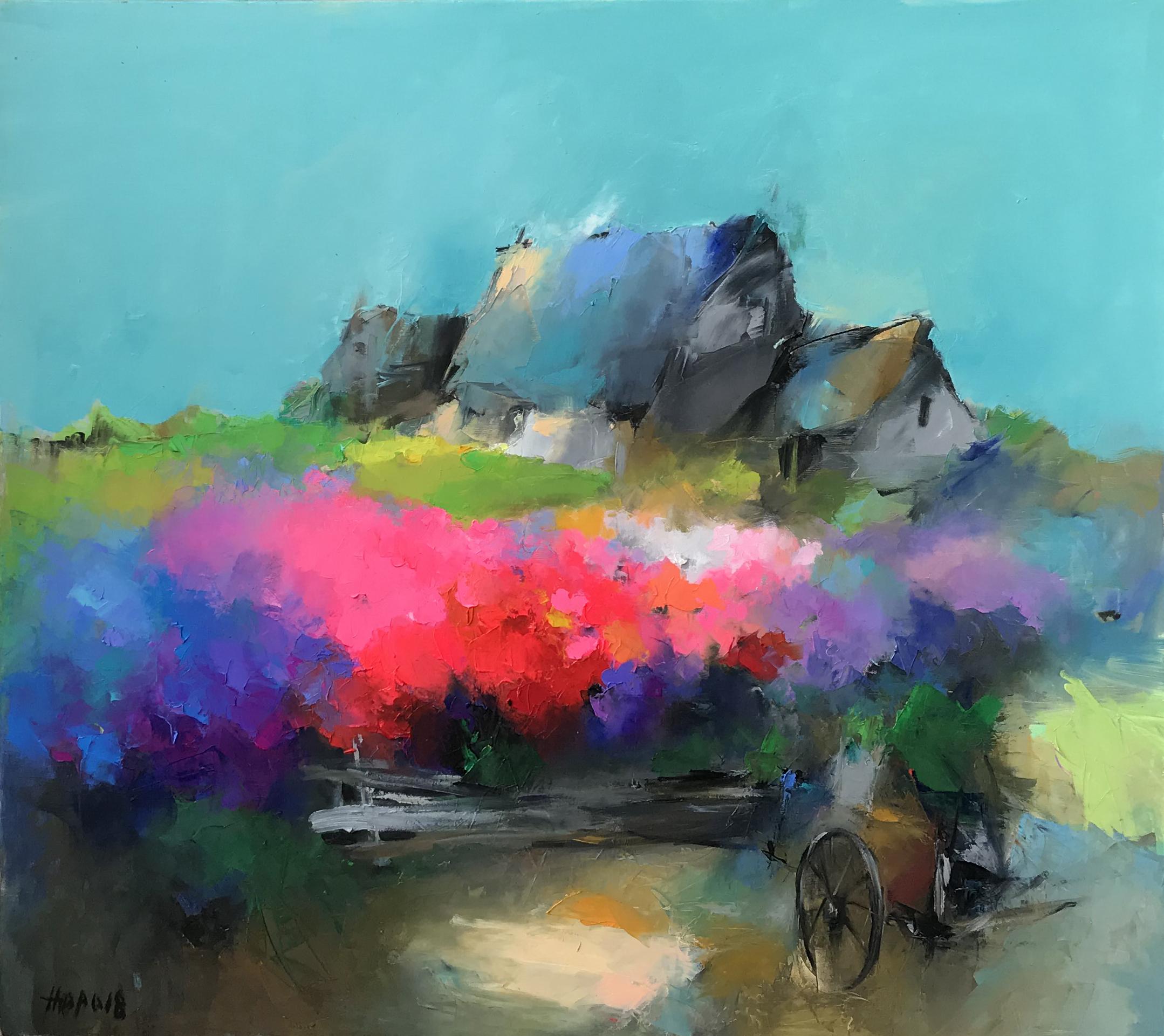 Spring Field No. 2 | Cánh Đồng Xuân 02
